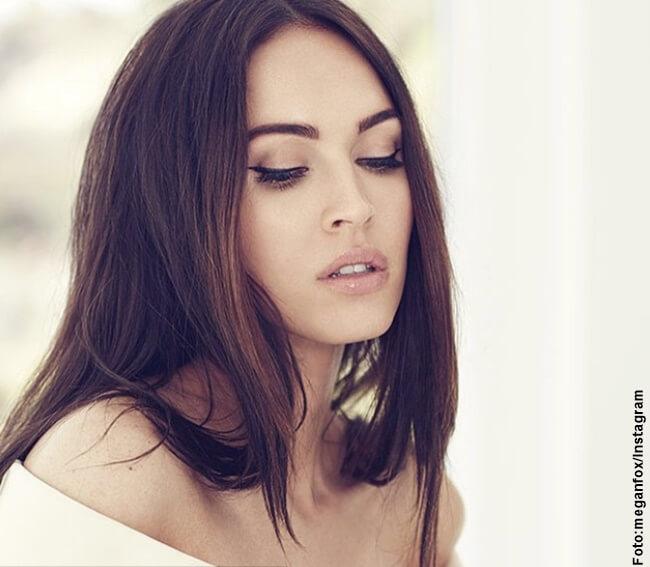 Foto del rostro de Megan Fox