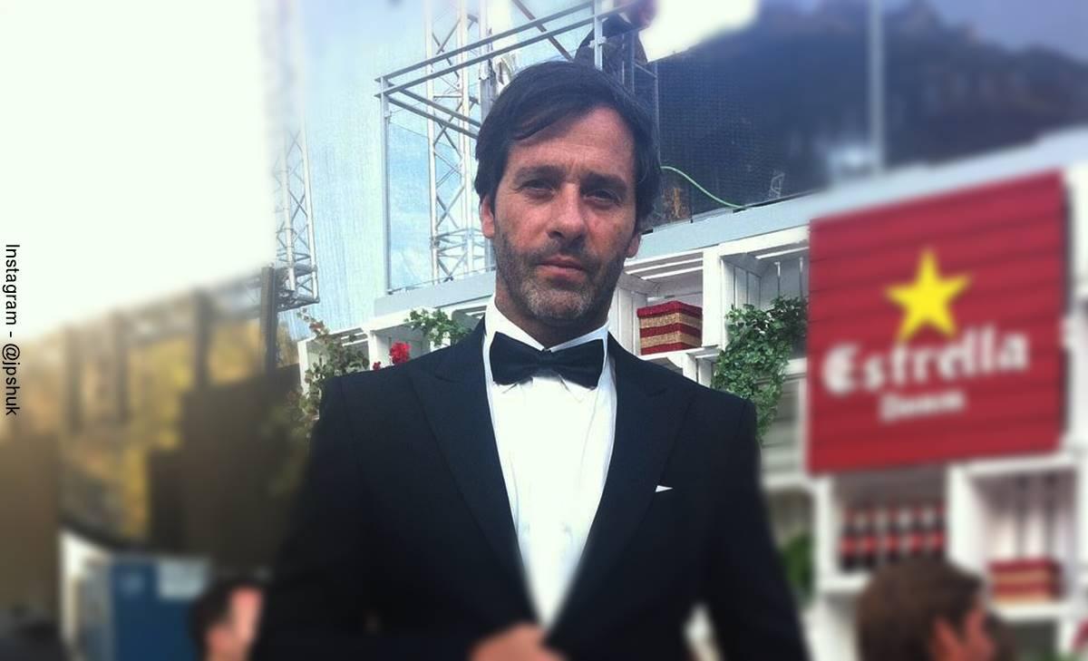 Foto de Juan Pablo Shuk durante la entrega de los Premios Platino.