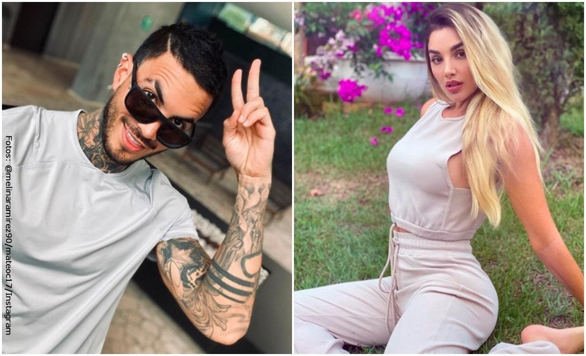 Mateo Carvajal se cubrió el tatuaje que tenía en honor a Melina