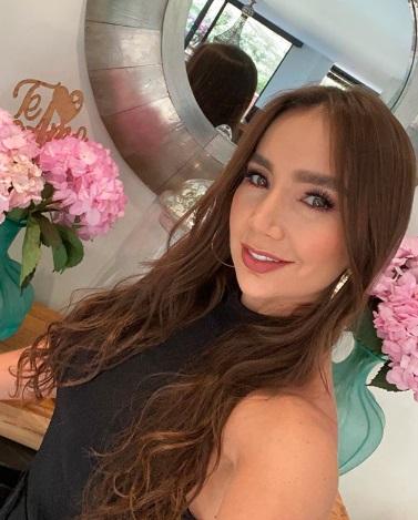 Paola Jara en su casa.