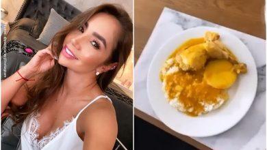 Paola Jara volvió a preparar sudado de pollo y las críticas no paran