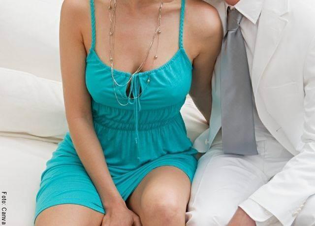 Foto de un hombre y una mujer para el perfil psicológico de un hombre infiel