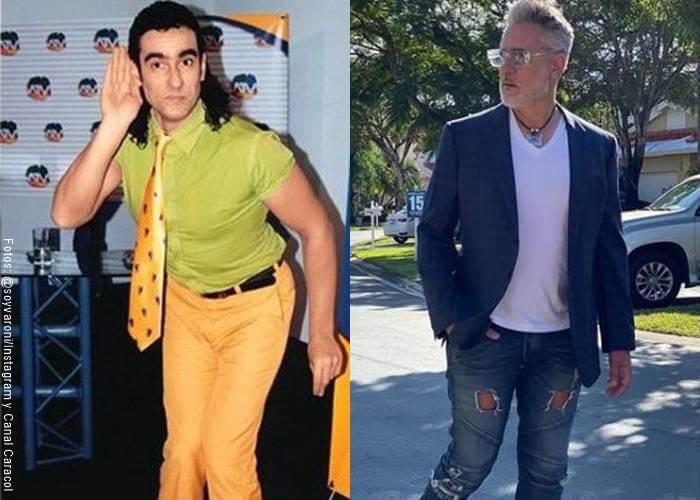 Foto de MIguel Varoni antes y después (Protagonistas de Pedro el escamoso)