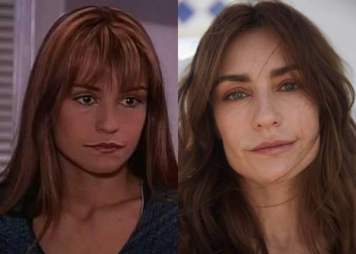 Foto antes y después de actriz Marcela Mar