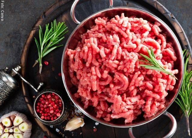 Foto de carne molida