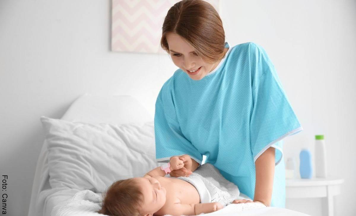 Abdomen arrugado después del embarazo enorgullece a estas mamás