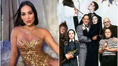 Andrea Valdiri hizo impresionante cosplay de La familia Addams