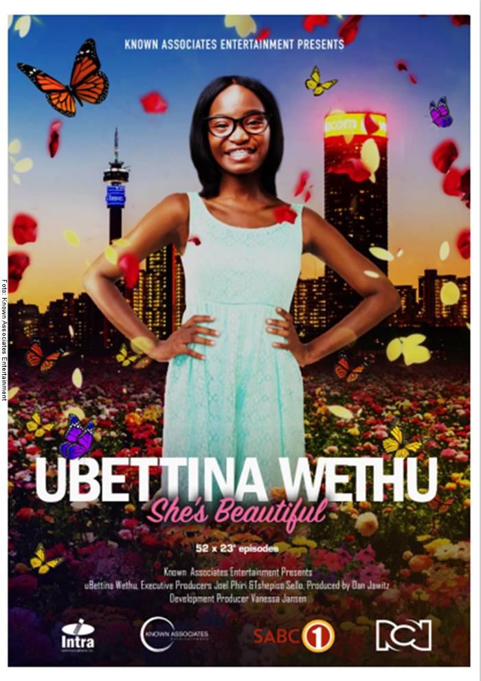 Cartel de la producción de Yo soy Betty, la fea en África