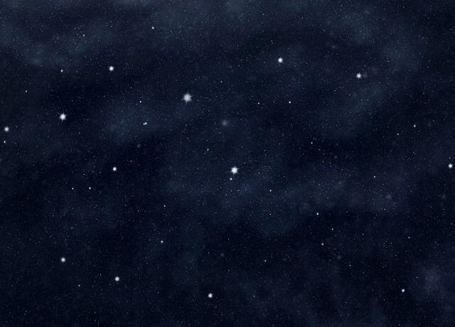 Foto de un cielo estrellado sin Luna