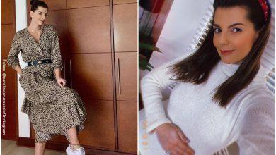 Con hermosos trajes de baño, Carolina Cruz presumió su pancita