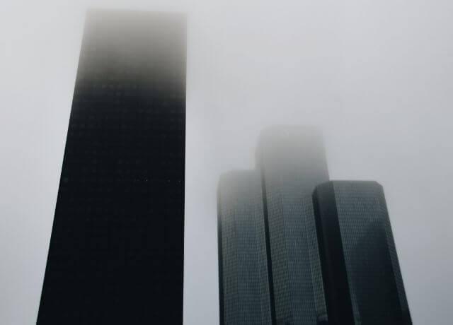 Foto de cuatro rascacielos