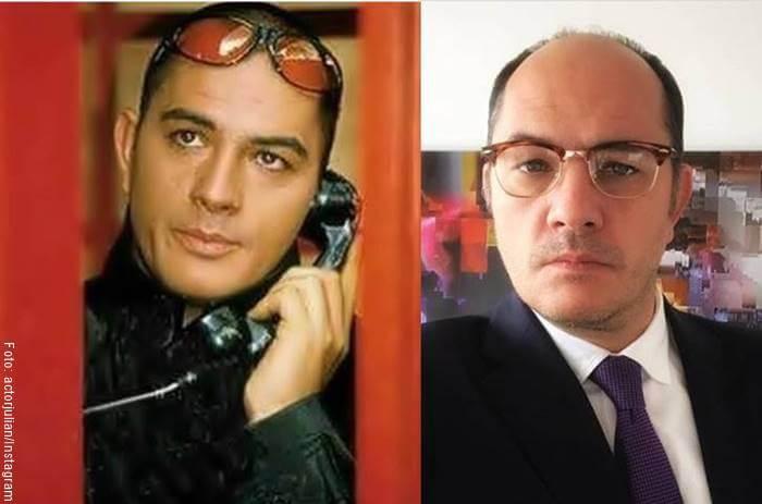 Fotos de Hugo Lombardi antes y después