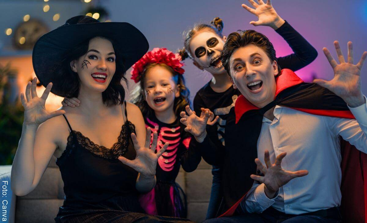 Ideas para celebrar Halloween en cuarentena