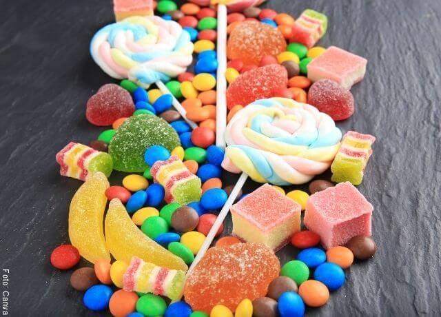 Foto de muchos dulces