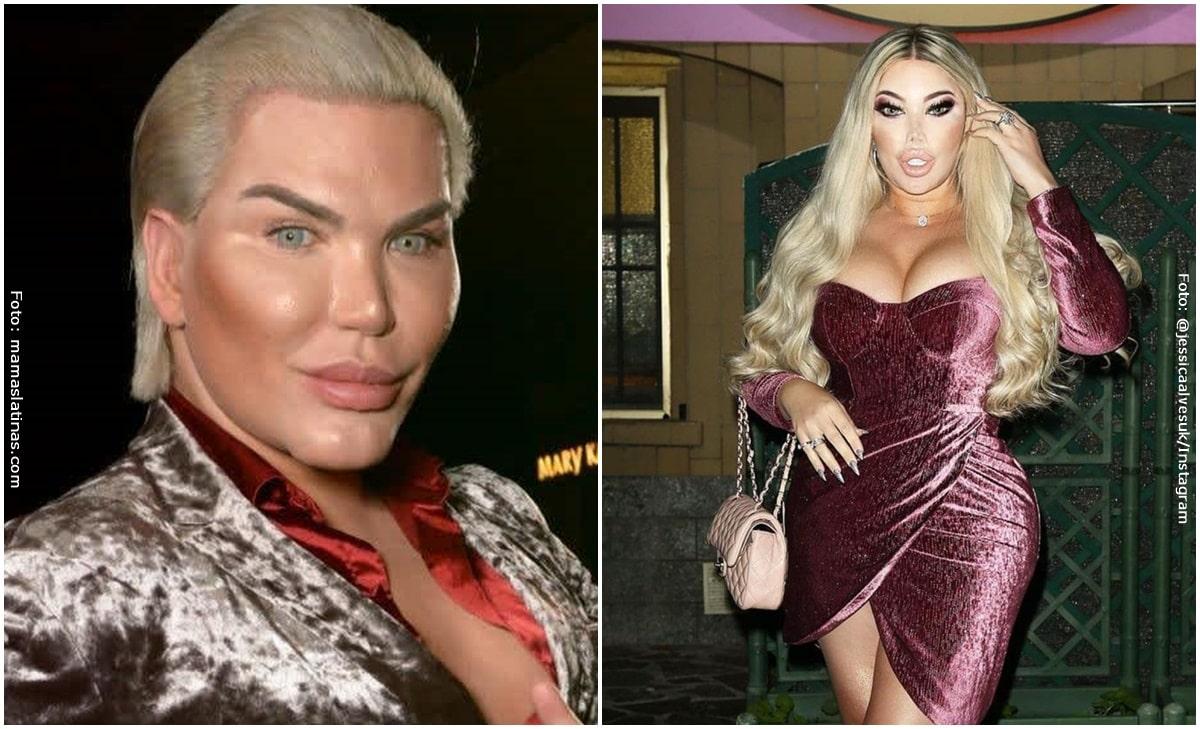 Ken Humano (ahora Barbie Humana) mostró a su nuevo novio