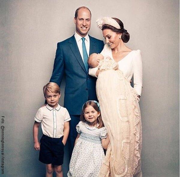 Foto de Kate Middleton, el principe Harry y sus 3 hijos