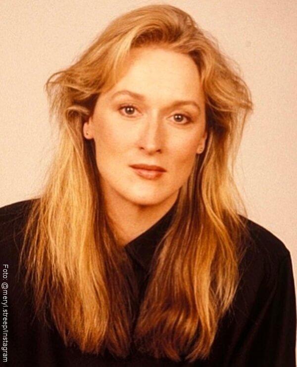 Foto de Meryl Streep cuando era joven