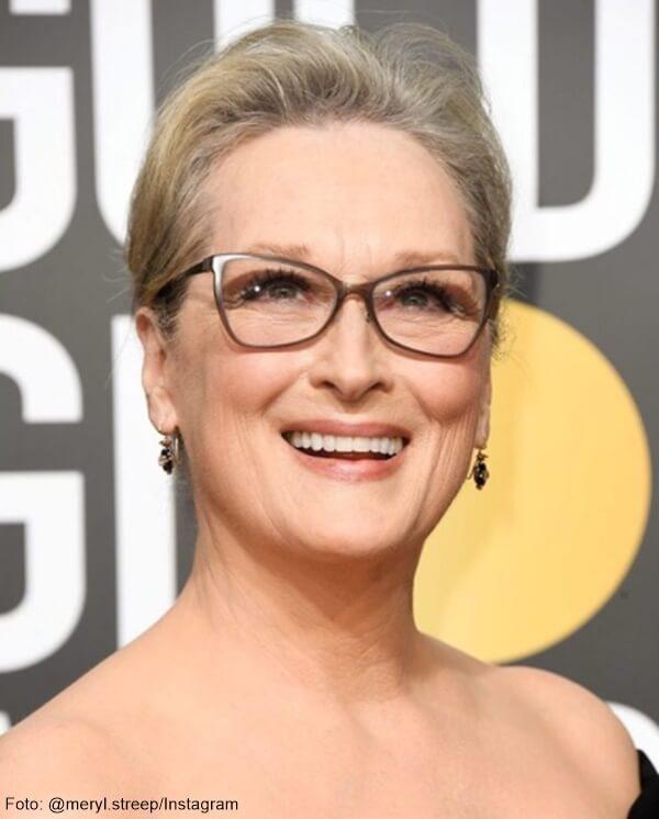 Meryl Streep con gafas