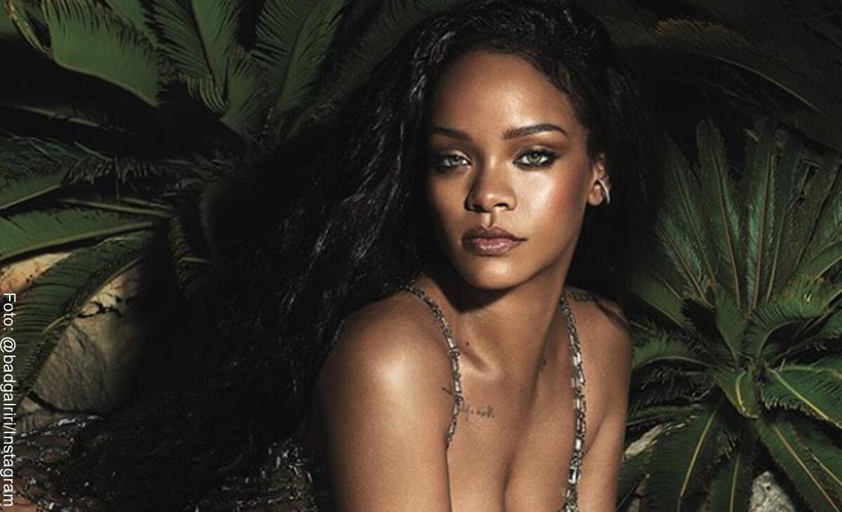 Rihanna desata polémica por esta foto con su sobrina