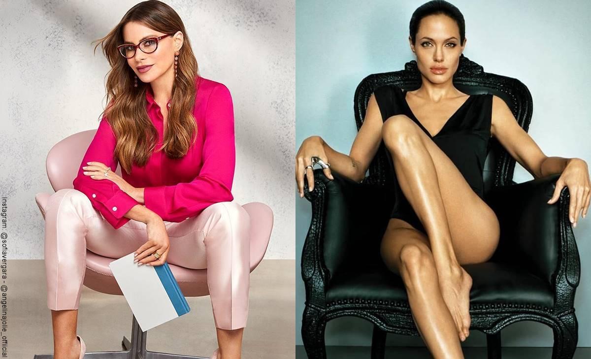 Foto de Sofía Vergara y Angelina Jolie