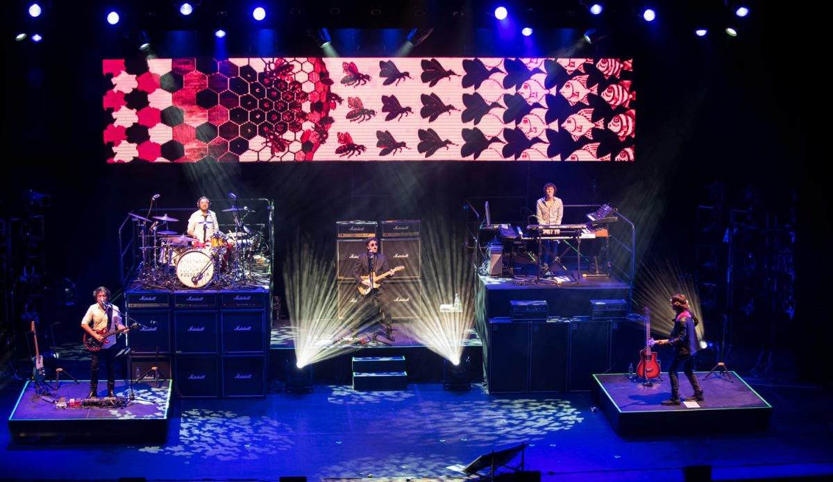 Foto de Poligamia tocando en vivo
