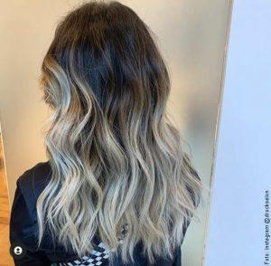 foto de cabello con mechas