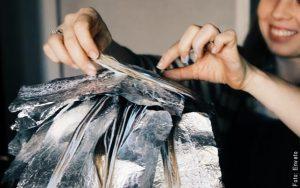 foto de tintura de cabello