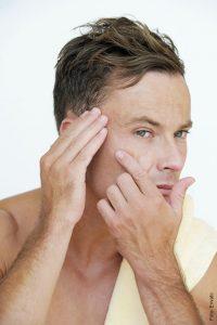 foto de hombre con arrugas
