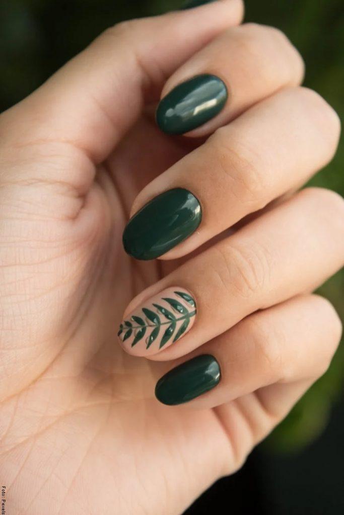Foto de una mano para ilustrar cómo hacer crecer las uñas