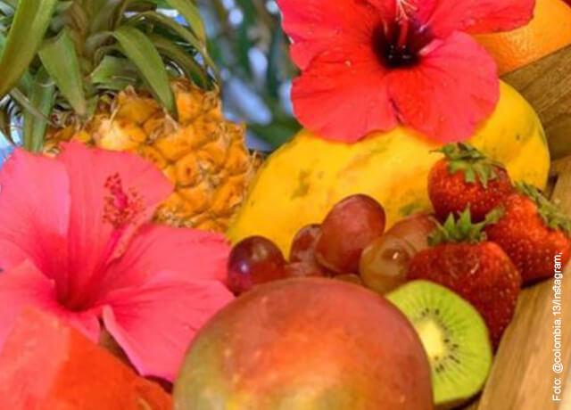 Foto de frutas que ilustra cómo hacer salpicón