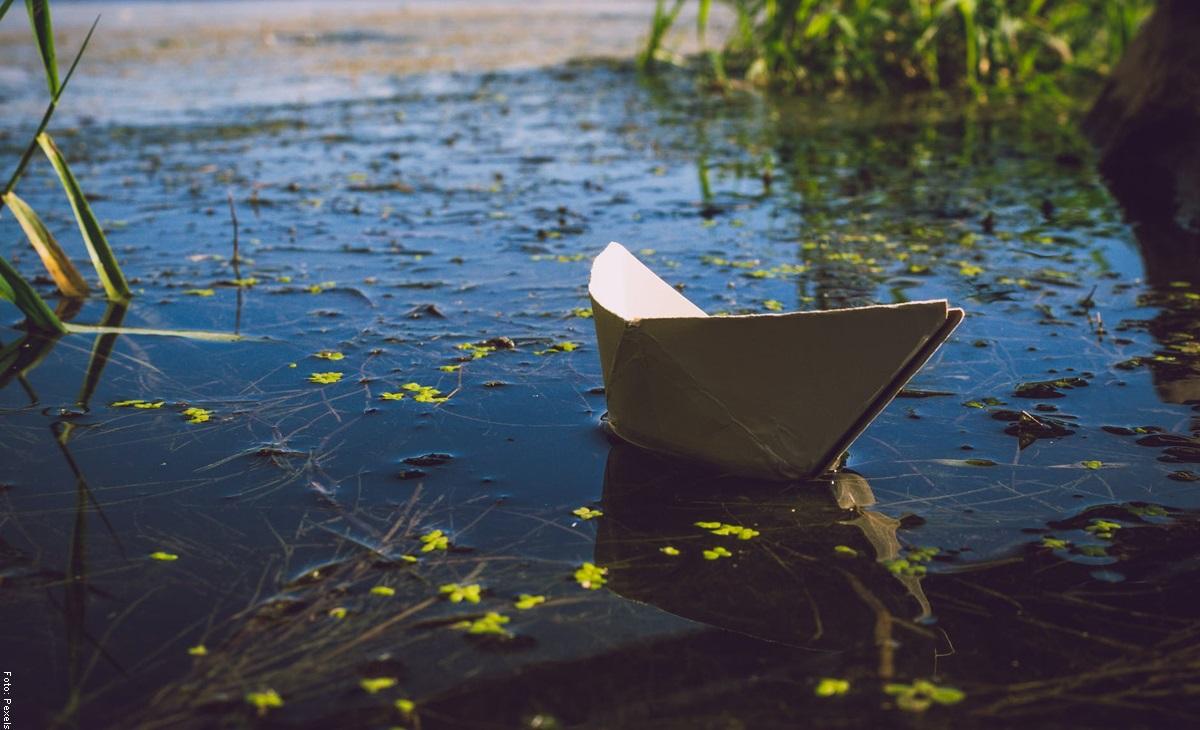 ¿Cómo hacer un barco de papel fácil y rápido?