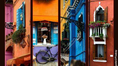 Foto de ciudades en collage