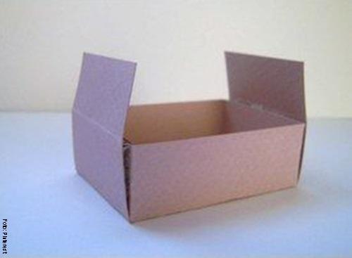 Foto de un paso a paso de una caja casi terminada