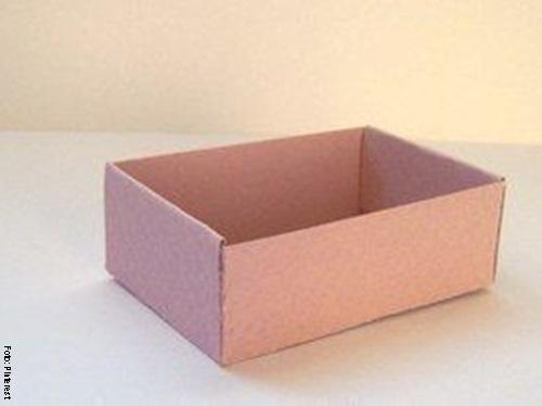 Foto de una caja terminada