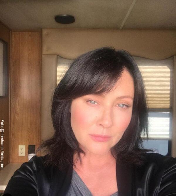 Foto de brenda Walsh actriz de Beverly Hills