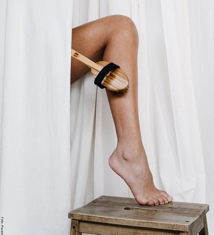 Foto de un pie para ilustrar el cuidado de los pies