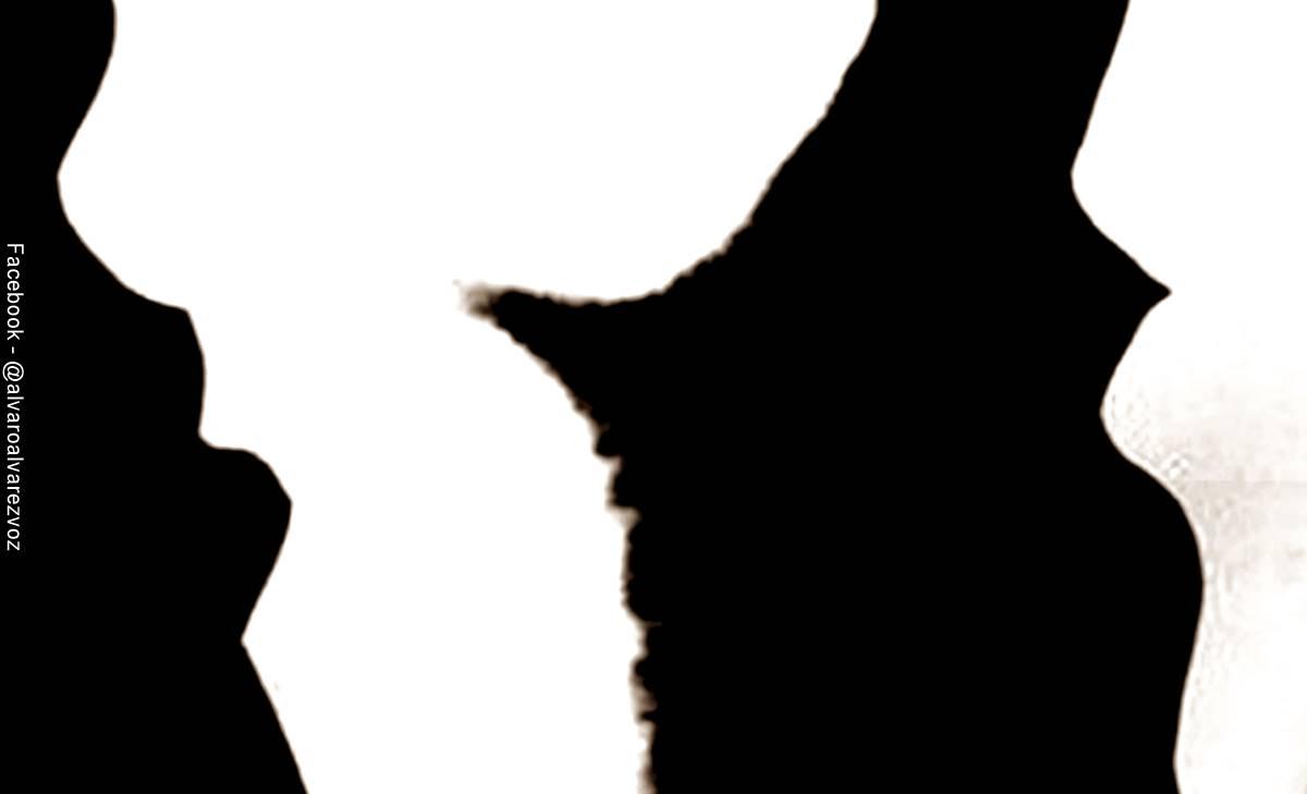 Dos personas o un gato ¿Qué ves primero? Test psicológico
