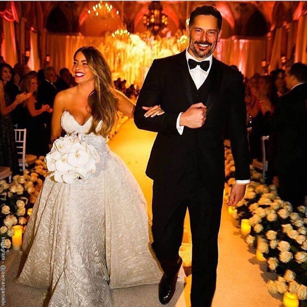 Foto del matrimonio entre Sofía Vergara y Joe Manganiello