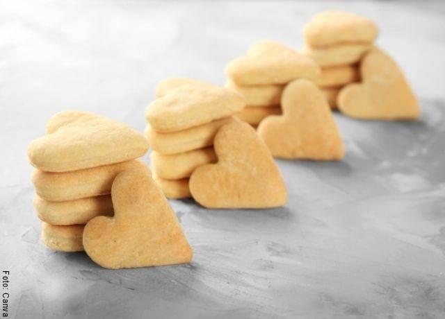 Foto para ilustrar la receta de galletas de mantequilla