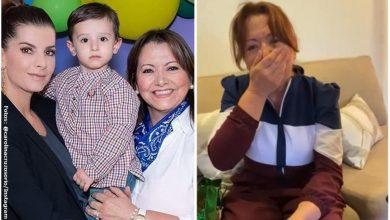Mamá de Carolina Cruz lloró al enterarse que volverá a ser abuela