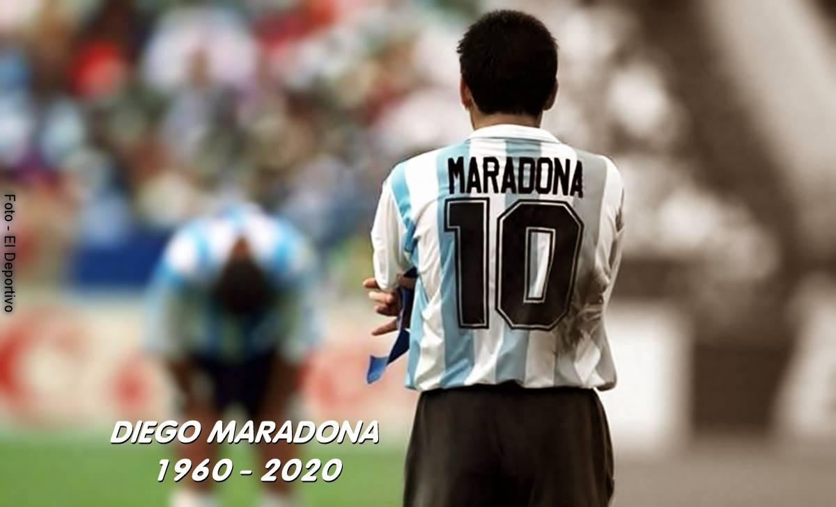 Murió Diego Maradona, un hombre de fútbol, excesos y polémicas