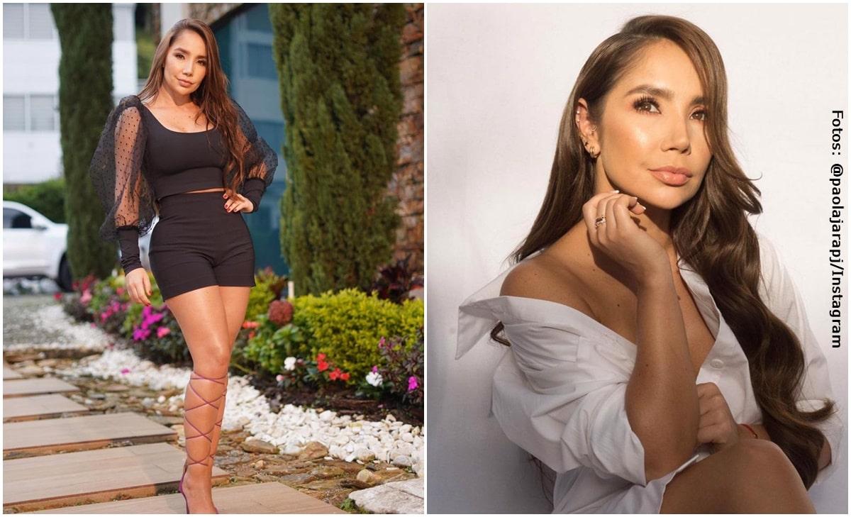 Paola Jara modeló su sensual lencería y dejó babeando a sus fans