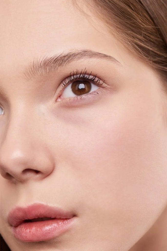 Foto del rostro de una mujer