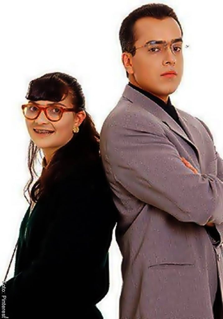 Foto de Betty y el doctor Armando Mendoza