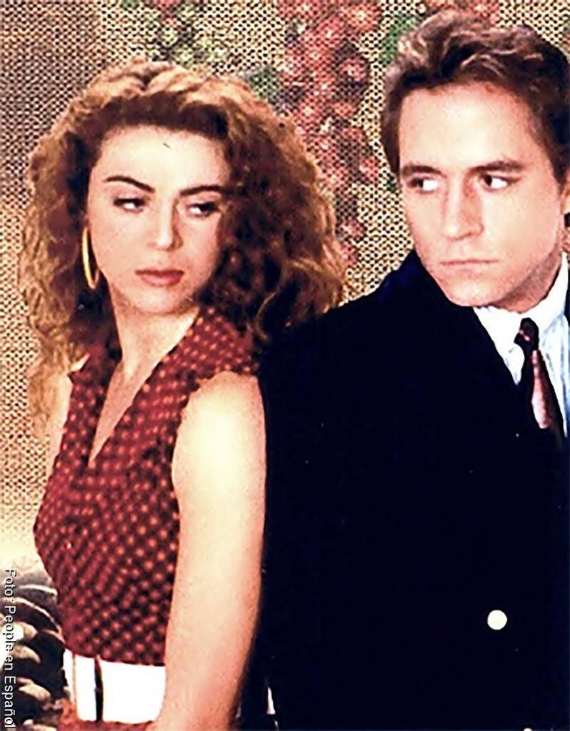 Foto de Gaviota y Sebastián Vallejo en la novela Café con aroma de mujer
