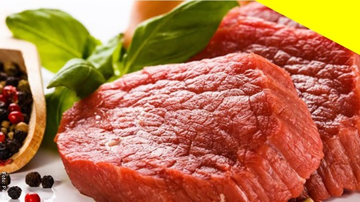 Foto de trozo de carne fresca