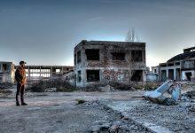 Foto de una zona devastada