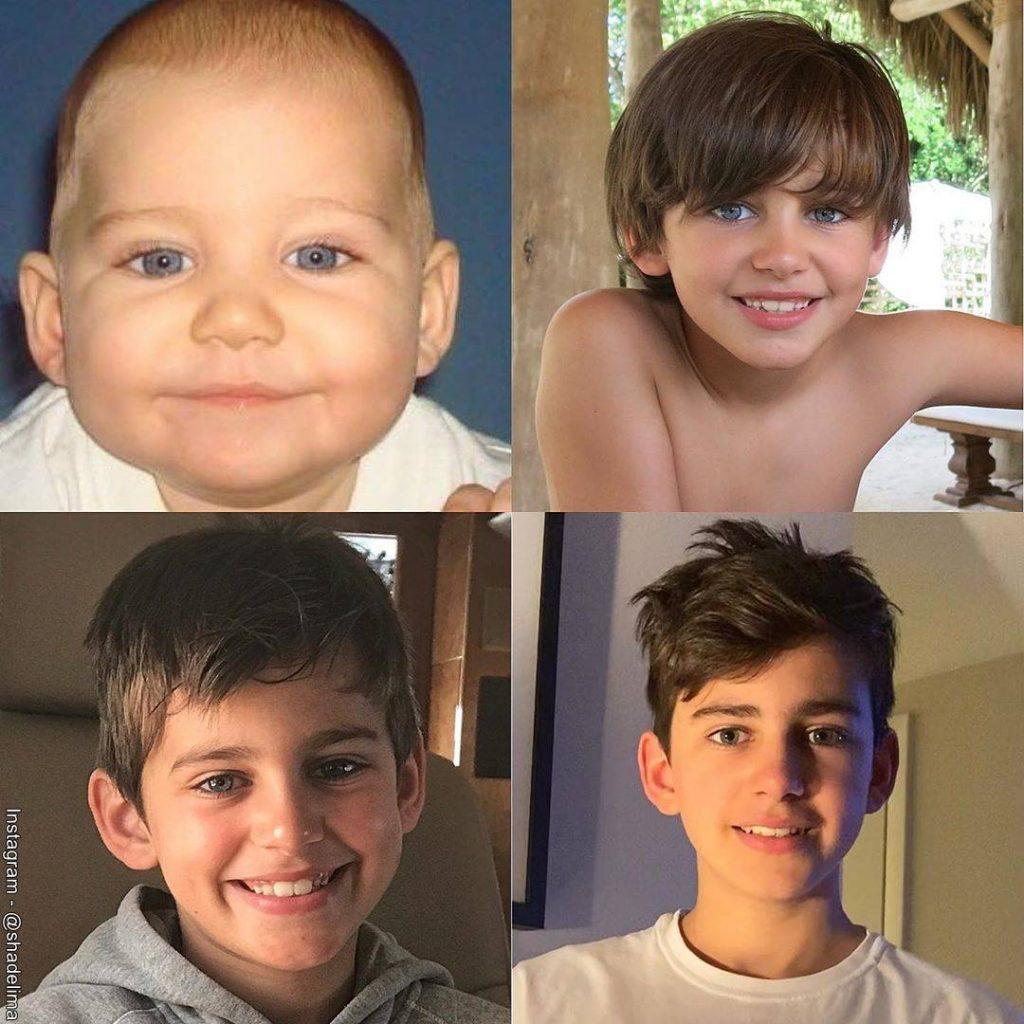 Foto de Daniel Alejandro, el hijo de Shannon de Lima y Manuel Sosa