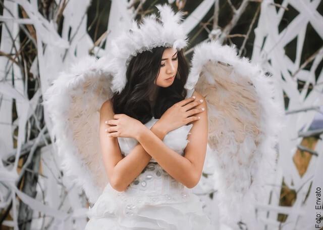 foto de angel femenino