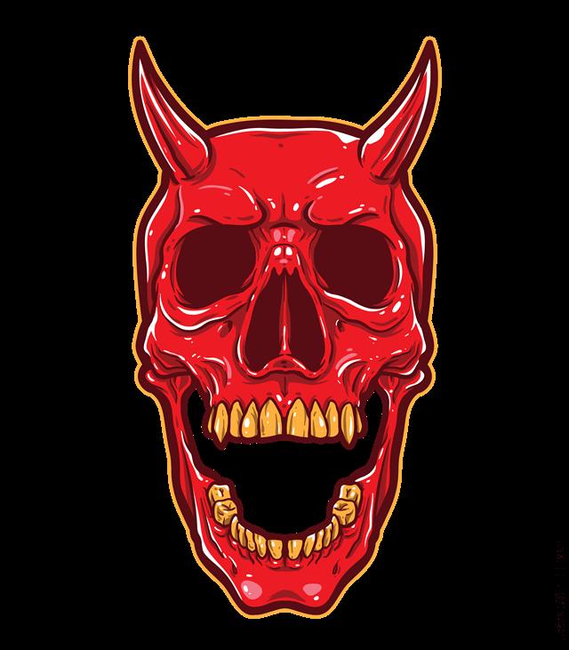 ilustración del diablo
